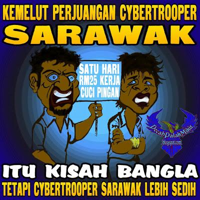 Kemelut Cybertrooper BN Sarawak Part 1