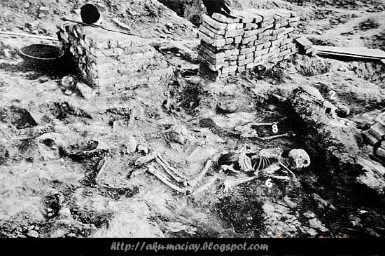 Mayat bergelimpangan di Kota Kuno Mohenjo-Daro mengandung radioaktif